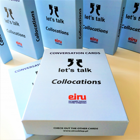 Karty Konwersacyjne - Let's talk - COLLOCATIONS