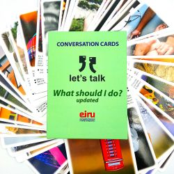 Karty Konwersacyjne - Let's talk - WHAT SHOULD I DO ?