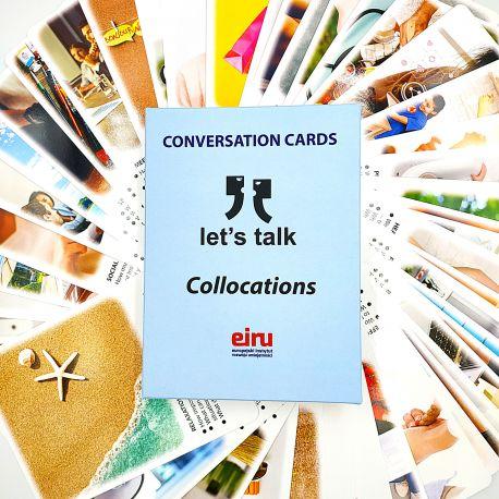Karty Konwersacyjne - Let's talk - COLLOCATIONS