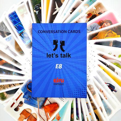 Karty Konwersacyjne - Let's talk - E8