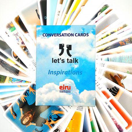 Karty Konwersacyjne - Let's talk - INSPIRATIONS