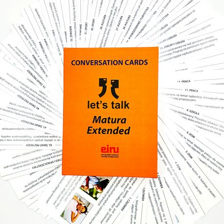 Karty Konwersacyjne - Let's talk - MATURA EXTENDED