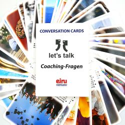 Karty Konwersacyjne - Let's talk - wersja niemiecka COACHING - FRAGEN
