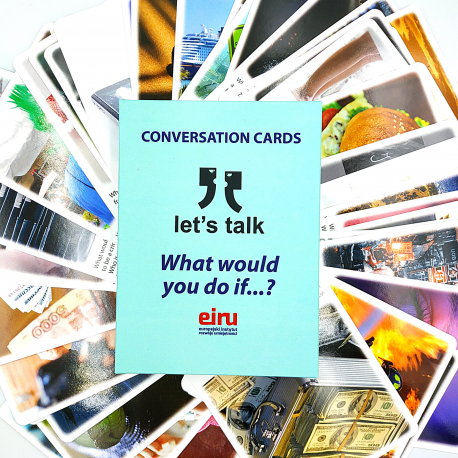 Karty Konwersacyjne - Let's talk - WHAT WOULD YOU DO IF... ?
