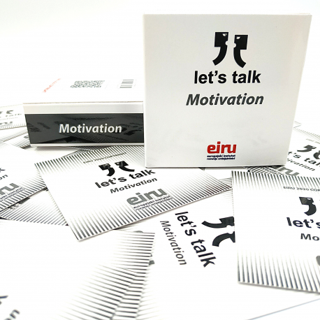 Karty Konwersacyjne - Let's talk mini - MOTIVATION