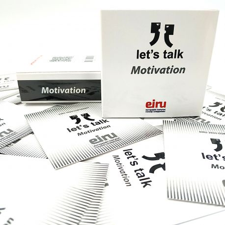 Karty Konwersacyjne - Let's talk mini - MOTIVATION