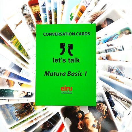 Karty Konwersacyjne - Let's talk - MATURA BASIC 1