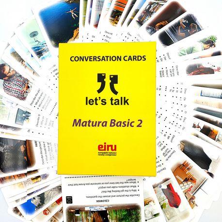 Karty Konwersacyjne - Let's talk - MATURA BASIC 2