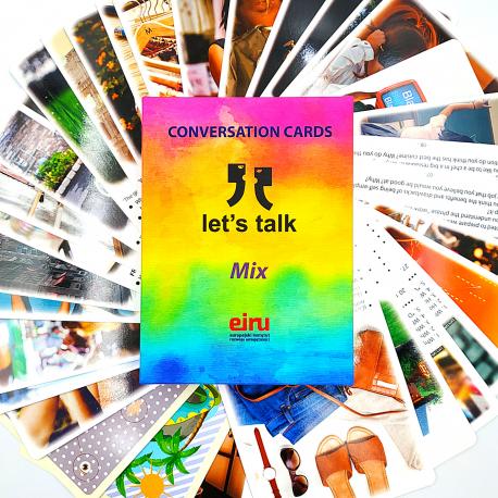 Karty Konwersacyjne - Let's talk - MIX