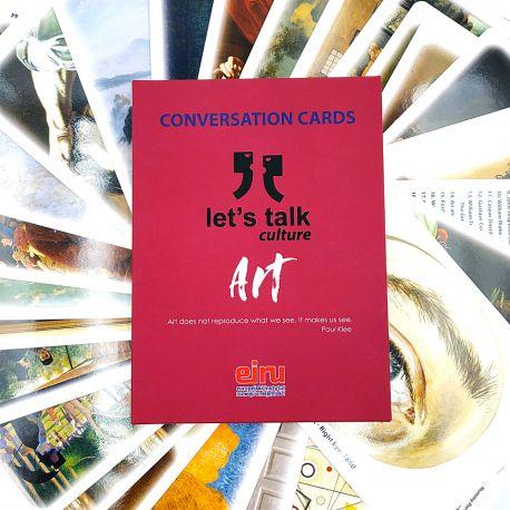 Karty Konwersacyjne - Let's talk culture - ART