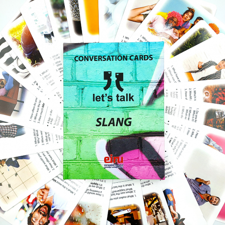 Karty Konwersacyjne - Let's talk  - SLANG