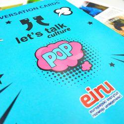 Conversation Cards - Let's talk culture - POP