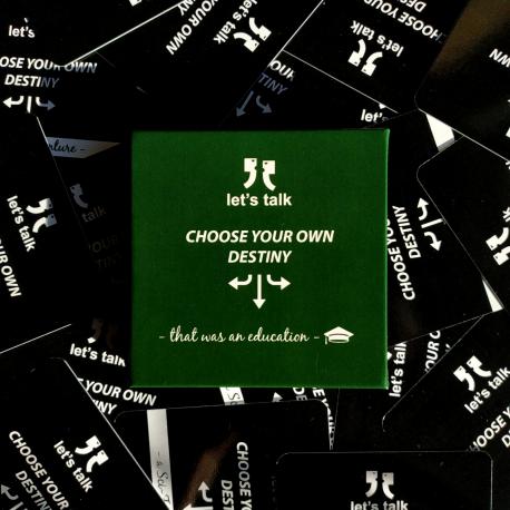 Gra Let's talk - Choose Your Own Destiny - That Was an Education (Edukacja)