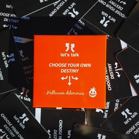 Gra Let's talk - Choose Your Own Destiny - Halloween Dilemmas